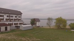 Cottage House Near Water (denyshrishyn) Tags: travel vacation sky house lake building tree home nature water architecture rural river landscape countryside seaside pond scenery village country cottage scenic