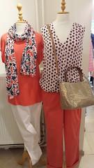 Paradise Red van Taifun! #Taifun #tshirt #broek #bloes (daphnefashion) Tags: tshirt broek taifun bloes