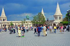 Fisherman Bastion ,Budapest (misi212) Tags: fisherman hungary budapest bastion