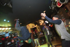 DancePartyBackFlipB (B Shree B) Tags: canada motion ferry port washington dance vespa angeles columbia victoria lambretta destiny soldiers scooters british scooterrally backflip