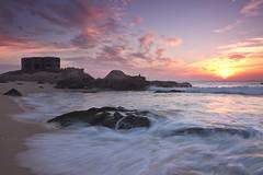 Fisching (jaocana76) Tags: ocean sunset sea beach water atardecer mar playa paisaje bunker cadiz pesca tarifa pescadores atlantico zaharadelosatunes costadelaluz estrechodegibraltar atlanterra straitsofgibraltar strog canon1635 canoneos7d jaocana76