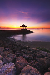 Serene Dawn (Pandu Adnyana (thanks for 100K views)) Tags: morning bali beach sunrise indonesia landscape dawn bale sanur greatphotographers greaterphotographers greatestphotographers pantaikarang