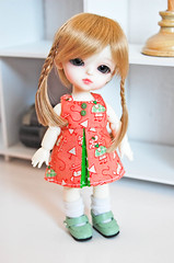 Little Haewon~ Pretty colors !! (Cute mini doll~) Tags: white yellow lumi atelier haewon latidoll lati momoni