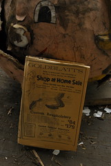 Goldblatts (nitram242) Tags: chicago abandoned ads newspaper store stores 1972 department goldblatts chicagoist