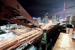 Toronto Fusion (tomms) Tags: bridge urban toronto skyline highway cityscape crane gardiner expressway fusion