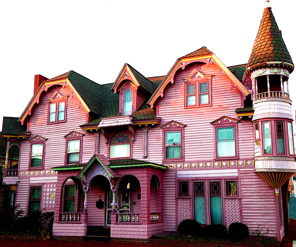 The World\'s Best Photos of pinkhouse and victorian - Flickr Hive Mind
