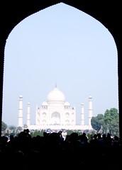 Visiting the Taj Mahal (by Jake)