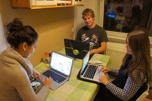 Trabalhando no Apple - Aachen - Alemanha