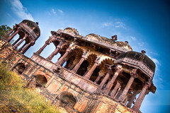 Ranthambore Fort (Vivek R. Singh: Visual Artist) Tags: old india architecture canon landscape nationalpark ancient fort wide bluesky 1855 hdr rajasthan ranthambore asiasociety 500d rajput ranthamborefort rebelt1i vivekrajsingh vivekrsingh vivekrsinghvisualartist