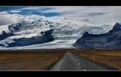 Iceland - Vatnajokull glacier (Sante sea) Tags: road iceland strada glacier ghiacciaio islanda hringvegur vanajokull