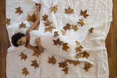 Otoo (jaime m) Tags: wood autumn fall leaves hojas madera sleep otoo dormir highangle cenital jaimemonfort