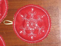 Snowflake Ornament (KimJam56) Tags: ornament swap blended freshly 2011