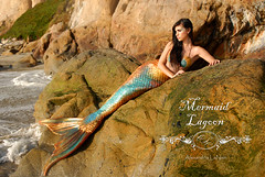 Mermaid Lagoon [Explored] (Alexandria LaNier) Tags: ocean beach water costume warm tail sunny lagoon fantasy mermaid beautyiful alexandrialanier