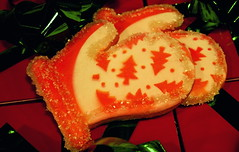 Tree Mitten Cookies