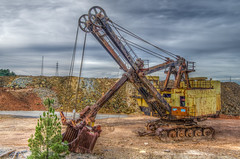 Lost in time Hdr5 (_Rjc9666_) Tags: old mine riotinto huelva 7 8 machinery diggers hdr 361 rtm331 ruijorge9666