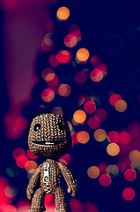 king of Christmas [explored] (Gerrit...!) Tags: santa christmas xmas snow tree pine bells weihnachten lights navidad big nikon candles little bokeh sb600 presents planet merry claus nikkor cls lbp explored strobist sb900 sackboy d7000 35mmf18g