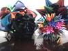 Atrás: Kusudama Arabesque e Sea Urchin. Na frente: Kusudama Arabesque (Preto) e Pluto (Ygor Albuquerque) Tags: sea pluto urchin seaurchin arabesque kusudama kusudamaseaurchin kusudamaarabesque kusudamapluto