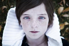 (andrew sea james) Tags: portrait girl grass leaves eyes nikon dof child lasvegas f14 nevada sigma 30mm