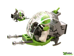 Speed Of Lime (ZetoVince) Tags: bike greek lego space vince scooter scifi vehicle minifig speeder zeto zetovince dreamdealer