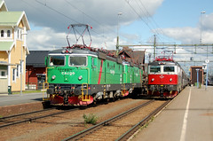 Rc4 1294+1312 - Rc6 1335, Boden (S) (RobbyH83) Tags: sj boden greencargo