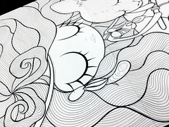 Sagitario WIP (Anita Mejia) Tags: illustration revista sagittarius zodiac horoscope ilustracion zodiaco horoscopo publicacion sagitario chocolatita anitameja tumagazine