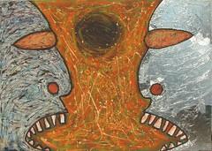 communication black hole (divedintopaint) Tags: ferrara astratto quadri espressionismo dived informale neoprimitivismo