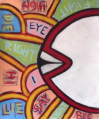 eye and i (divedintopaint) Tags: ferrara astratto quadri espressionismo dived informale neoprimitivismo