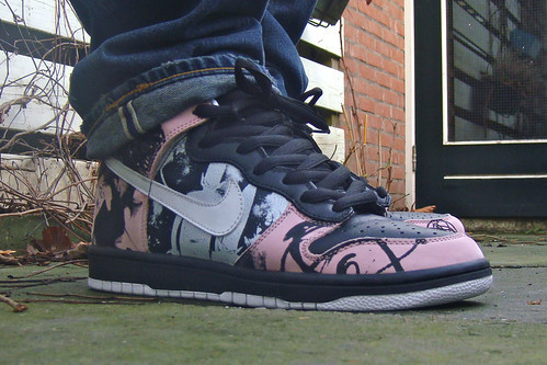 reputable site a56ce 880ba Nike Dunk High Pro SB – Unkle Dunkle Futura