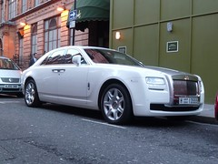 Rolls royces ghost (Benoit cars) Tags: white london cars ghost chrome rolls supercar sportscars supercars streetcars royces worldcars