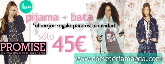 6a7ae57a9 promise pack pijama-bata-oferta-corseteriamagda (Corsetería Magda) Tags   navidad