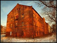 """The last of """"Watra"""" / Pozostałości """"Watry"""" (Rantes) Tags: winter industrial zima goldenhour sudety watra silesia śląsk sudetes lowersilesia dolnyśląsk lubawka złotagodzina"""