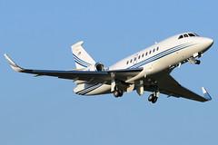 Private N448AS (Drewski2112) Tags: county field airport king 2000 international falcon easy boeing winglets dassault bfi kbfi f2th 2000lx n448as