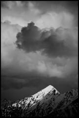 Somewhere along the BC/Alberta Border (omiala) Tags: mountains beautiful clouds contrast rockies bc alberta angryclouds kootenaynationalpark