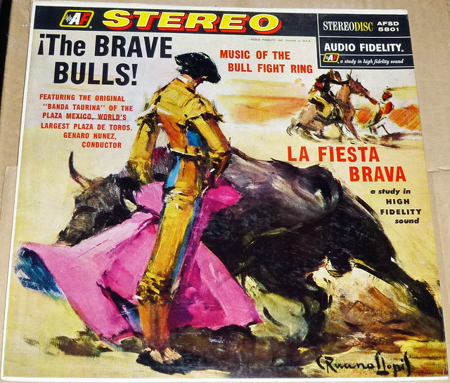 The Brave BULLS Record Cover