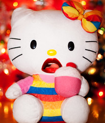 Day 269 of 365 - Year 2 (wisely-chosen) Tags: selfportrait me rainbow december bokeh hellokitty august canon50mmf18 cameraraw 2011 365days canonspeedlite430exii tamronaf90mmf28dispam11 adobephotoshopcs5extended