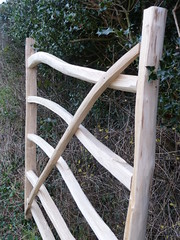 """Rustic Chestnut Gate • <a style=""""font-size:0.8em;"""" href=""""http://www.flickr.com/photos/61957374@N08/6593543459/"""" target=""""_blank"""">View on Flickr</a>"""