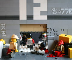 Open, guns, fire, blood. (CoIor!) Tags: iris lego contest global warfare wimbe lcn brickarms