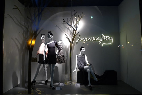 Vitrines Zara - Paris, décembre 2011