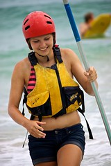 Having fun _7967 (Deb Jones1) Tags: ocean life travel sea summer people beach nature water beauty sport canon outdoors 1 jones surf kayak faces action australia places explore kayaking deb byronbay flickrduel