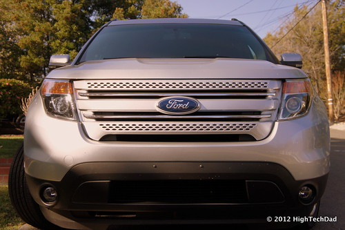 Front of 2011 Ford Explorer