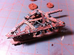 Warp Lighting Cannon progress (benjibot) Tags: painting warhammer skaven warplightningcannon