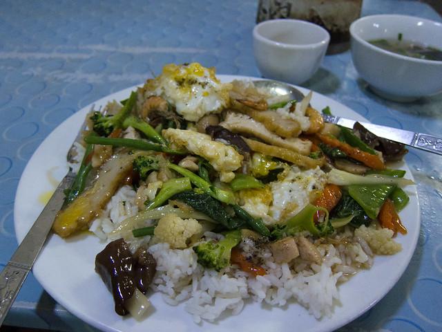Steamed Rice (Tamin Poun)