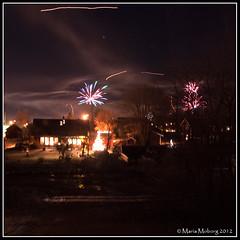 It's 2012! (mmoborg) Tags: winter snow cold kyla vinter fireworks newyearseve snö happynewyear 2012 nyår nyårsafton fyrverkerier mmoborg mariamoborg