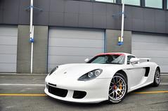 Porsche Carrera GT (Ismael Crabu ) Tags: white car race 50mm nikon 14 rich exotic porsche gt nikkor circuit 18200 speeding vr carrera paddock ismael d90 izza92 izzacarspotting crabu