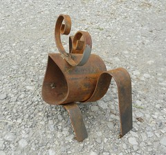 P2 (Blue Paw Relics and Restoration) Tags: sculpture metal steel metalsculpture welded metalart weldedsculpture