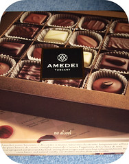 Amedei Pralines (LotOChoc) Tags: orange coffee chocolate pistachio marzipan hazelnut pralines amedei milkchocolate darkchocolate boxofchocolates chocolatereview whitechcoolate