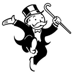 Mitt Romney's Monopoly (MittRomneys) Tags: one capital rich down monopoly bain wealthy gop baron mittens robber romney mitt percent trickle