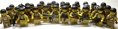 American Army ([Baci]) Tags: usa infantry lego wwii 4th american americans ba division airborne 29th paratroopers 101st 82nd brickarms airbornes