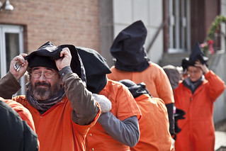 Witness Against Torture: Brian Terrell Suits Up