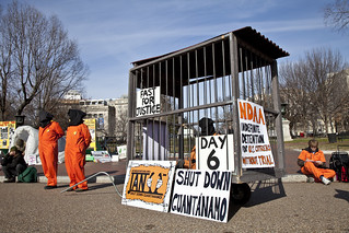 Witness Against Torture: 96-Hour Cage Vigil, Day 6